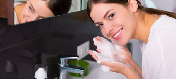what is the best nighttime skin cleansing routine?
